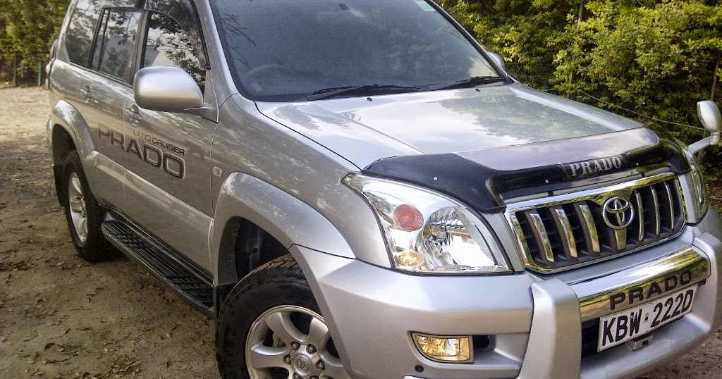 nairobimail toyota l cruiser prado 2006 diesel ex japan silver 3000cc. Black Bedroom Furniture Sets. Home Design Ideas