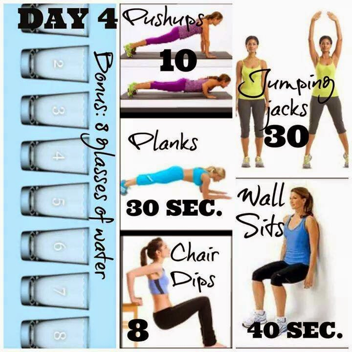 Healthy, Fast & Easy Weight Loss: 90 Day Challenge Workouts: Days ...
