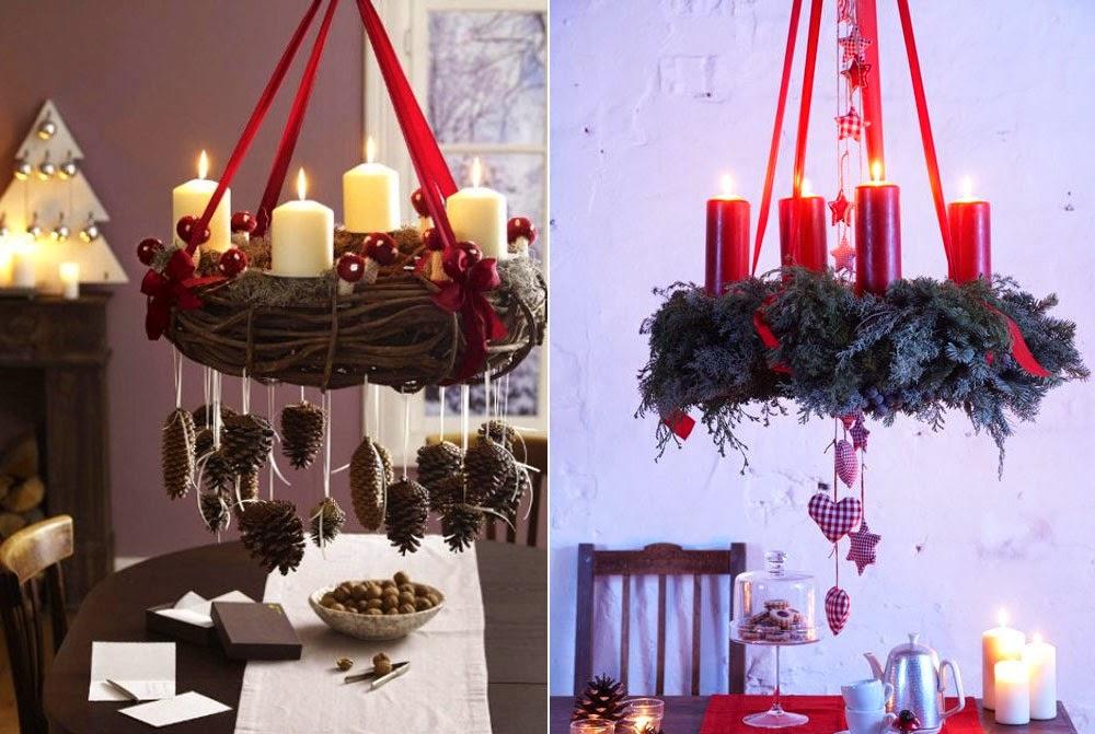 Pinterest adventsinspiration gefuehlsfreak lifestyle - Adventskranz landhausstil ...