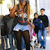 Celebs Out & About: Jennifer Hudson, Raven-Symone, Angela Simmons, Amber Rose