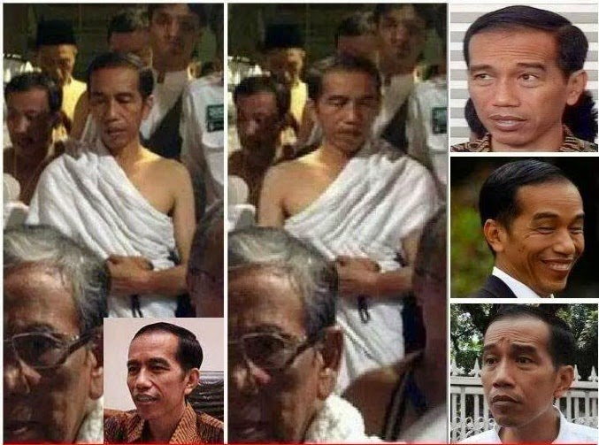 Baju Ihram Jokowi Fitnah Atau Fakta?