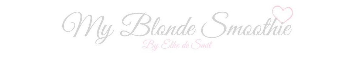 My Blonde Smoothie