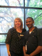 Livestrong assembly 2012-Austin/Texas-USA, Tara Williams and Dr Mateus