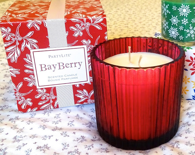 PartyLite Christmas candle range