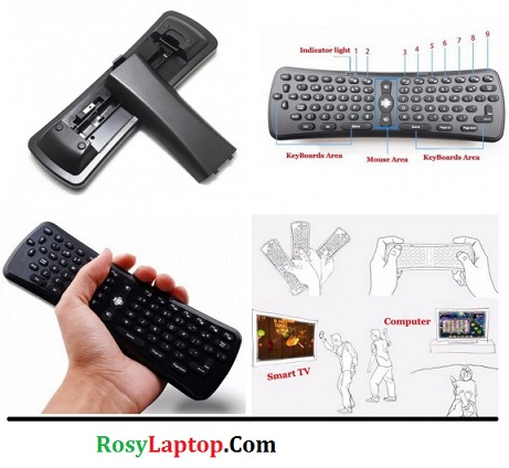 Keyboard Eksternal Wifi Mini (support Smart Tv, Android, dll)