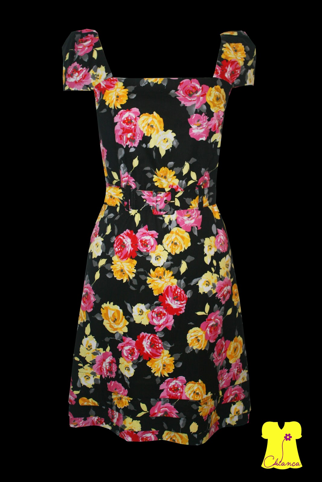 Chianca Atelier: Vestido Tulipa #BDA80E 1067x1600