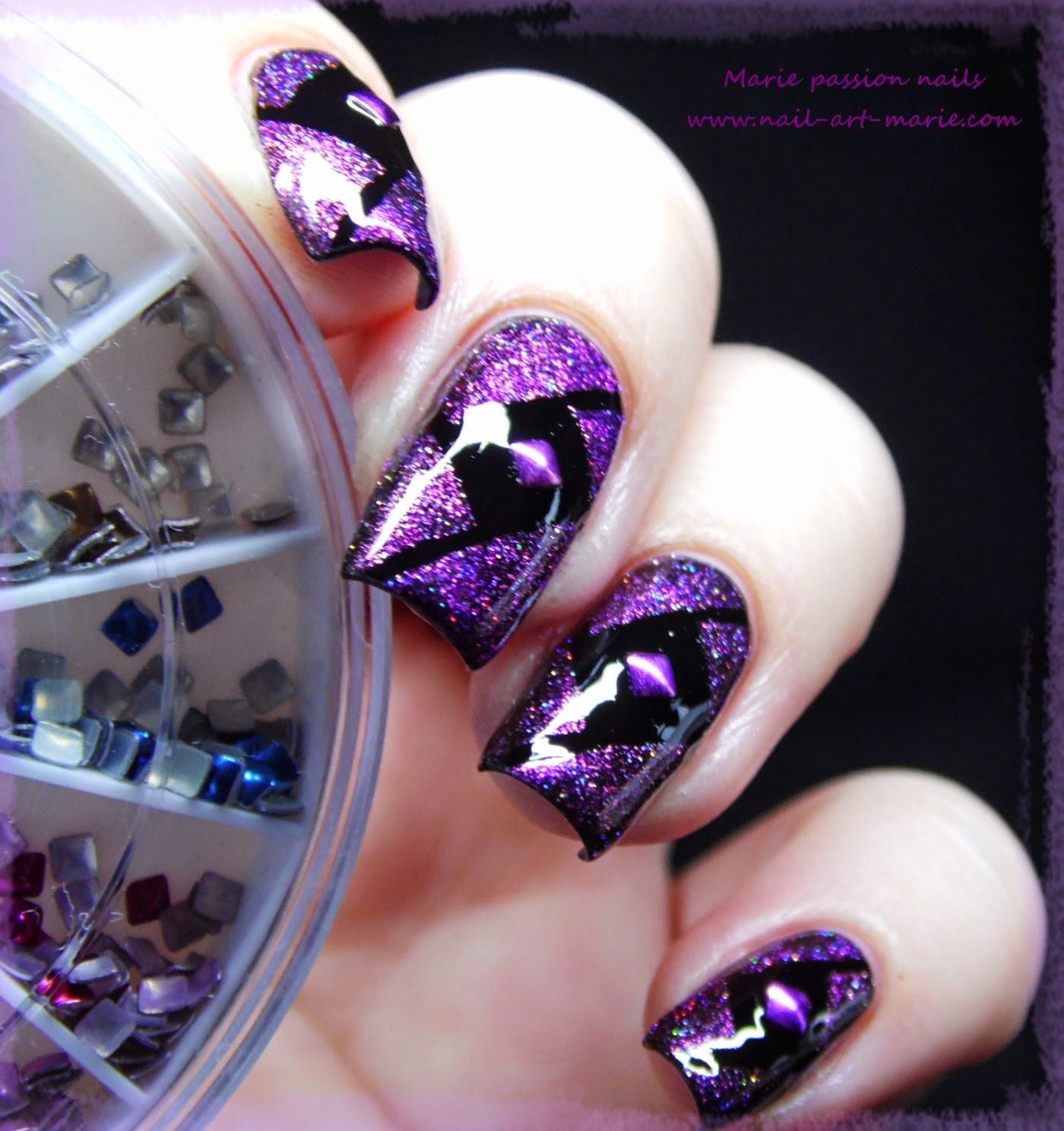 Nail Art Studs Géométrique2