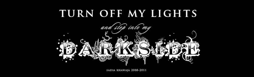 Turn off My Lights and Step into my Dark Side