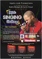 Win Big @The Jejetv Singing Challenge