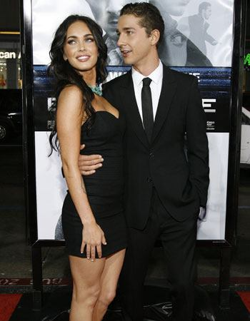 shia labeouf and megan fox in transformers 2. megan fox and shia labeouf