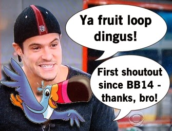 Dingus Fruit Loop Big Brother
