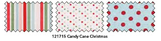 Stampin' Up! Candy Cane Fabric