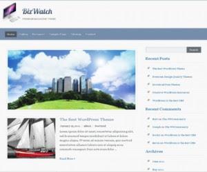 BizWatch WordPress Theme