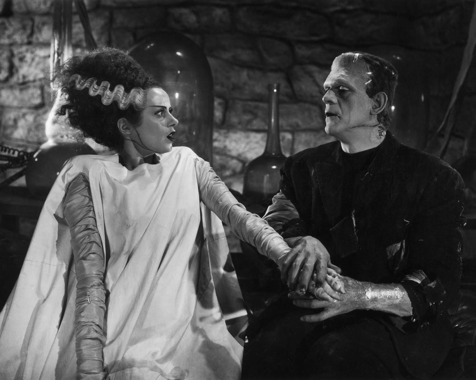 Resultado de imagen de la novia de frankenstein 1935