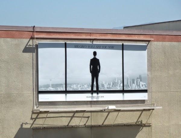 Fifty Shades of Grey movie teaser billboard