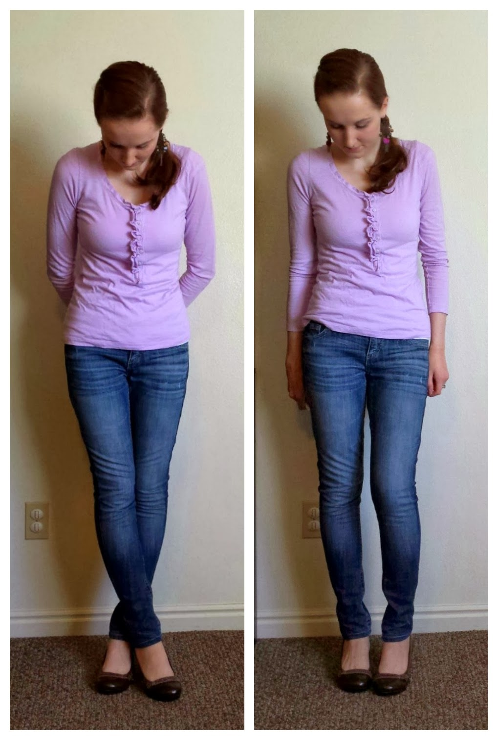 skinny jean refashion, flare to skinny jeans, diy skinny jeans, pants refashion, skinny jean tutorial