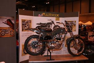 Se presentó una edición super limitada a 300 motos de la famosa Metisse con la que Steve McQueen competía en California en los 60