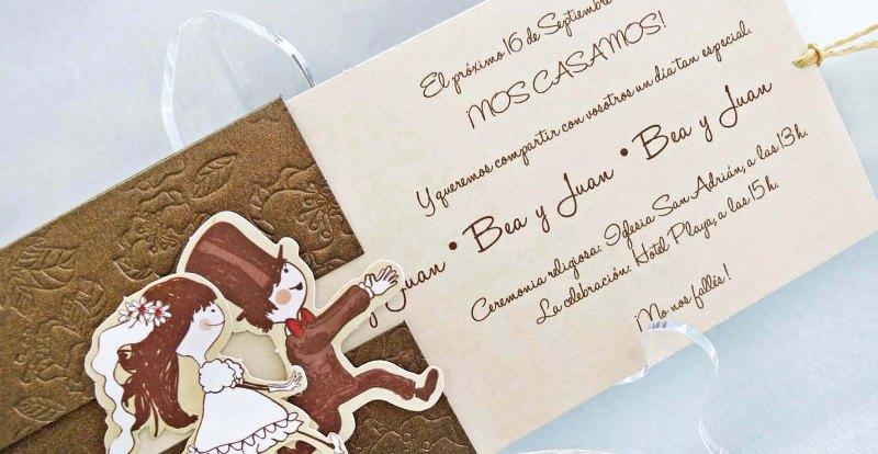 Invitaciones de boda detalles a tener en cuenta querida - Como hacer tarjetas de boda ...