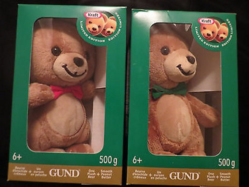 12 Days of Christmas Giveaways Day 9 - Kraft Peanut Butter Teddy Bears