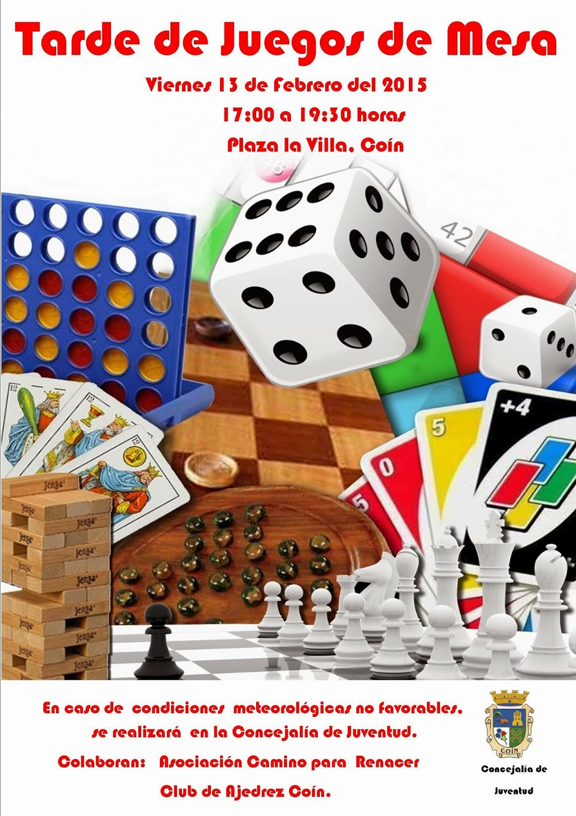 Concejalia de juventud de coin tarde de juegos de mesa for Mandibulas juego de mesa