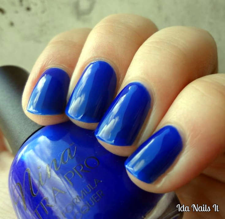 Ida Nails It: Nina Ulta Pro Cobalt