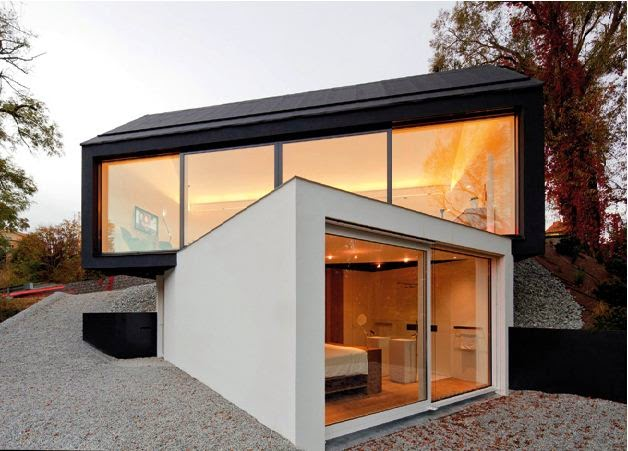 Studio House Design black on white - studio house design