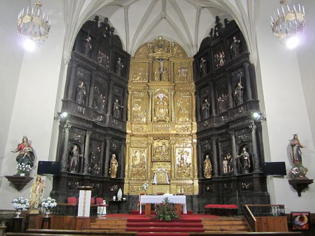 Iglesia de Santa María en Amurrio. Retablo