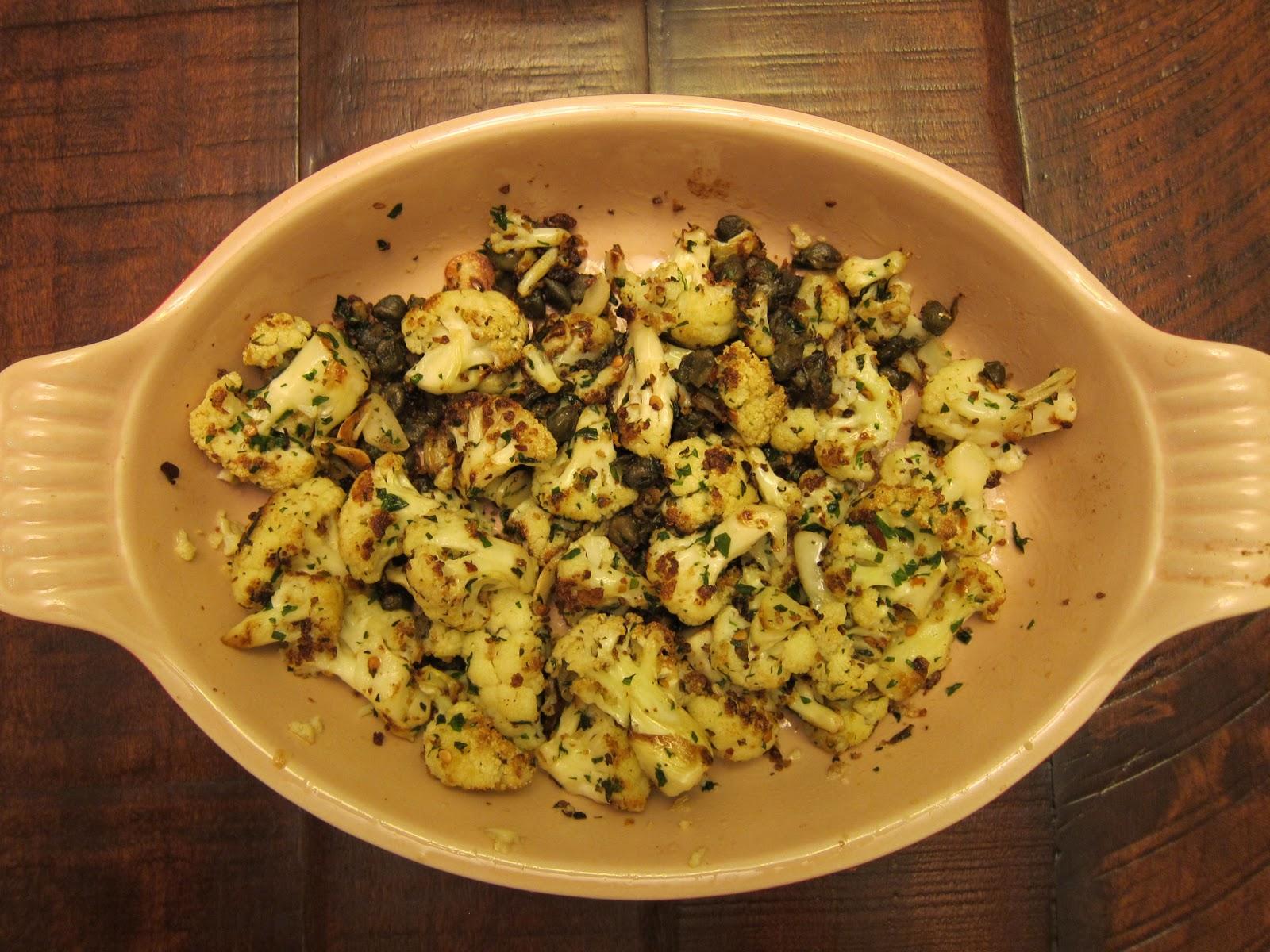 Weekday Gourmet: Restaurant (Re)creation: Delfina's Spicy Cauliflower