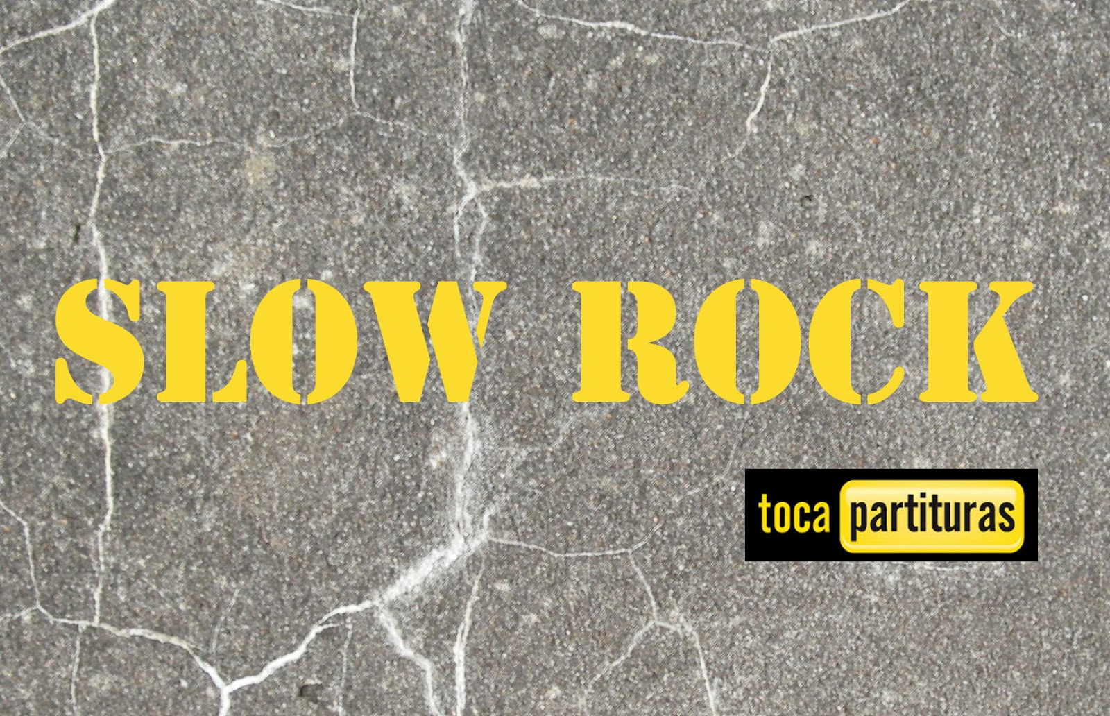 Slow Rock Partitura de Batería fácil para principiantes Rock Lento Sheet Music for Battery and Drums
