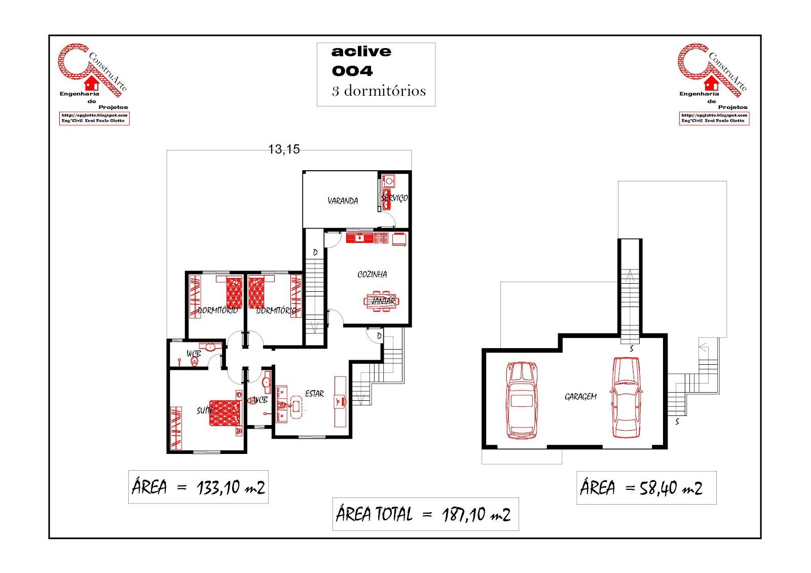 projetos de sobrados com 4 quartos PROJETOS SOBRADOS 4 QUARTOS  #B11B1A 1600 1131