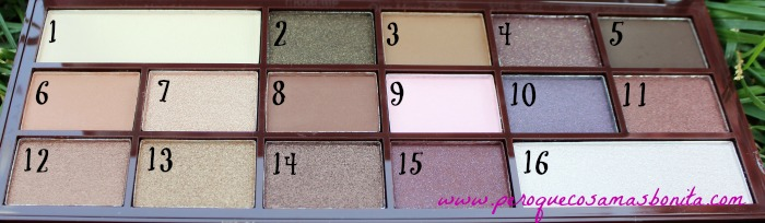 I Heart Chocolate de I♥Makeup