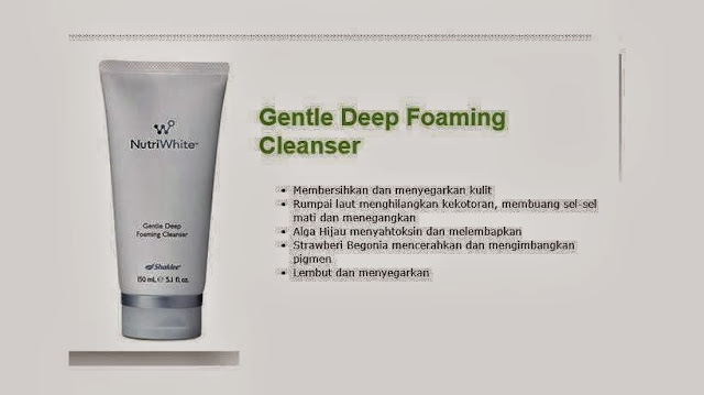 Gentle Deep Foaming Cleanser Nutriwhite