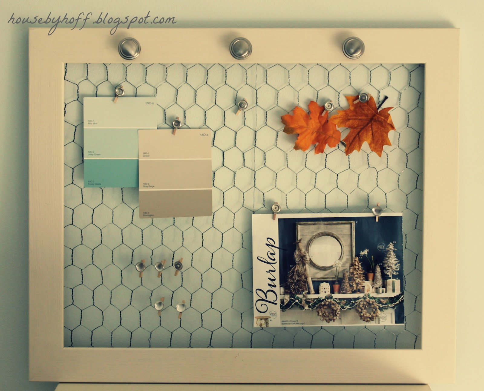 Chicken Wire Frame! - House by Hoff