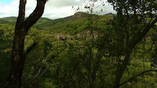 Pedra do Segredo, Caçapava do Sul. Vista a Partir da Caverna Percival Antunes