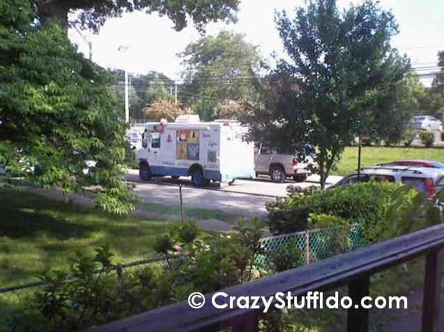 Nothing can clear a playground faster than the sound of an approaching ice cream truck.