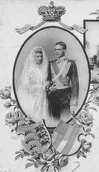 Mariage de Pauline de Wurtemberg et de Friedrich zu Wied
