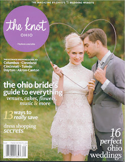 The Knot Ohio Spring/Summer 2013 cover, Cleveland wedding planner
