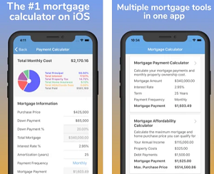 Finance App of the Month - Mortgage Pal - Calculator
