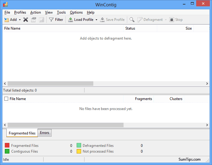Defragment Specific File or Folder in Windows