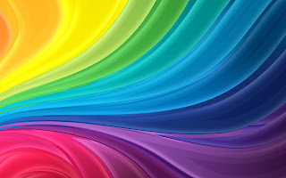 Rainbow Abstract HD wallpaper