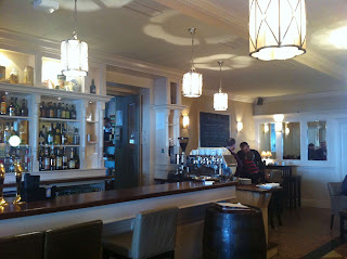 Stitch and Bear - The lovely interior of the Wild Boar pub in Stepaside