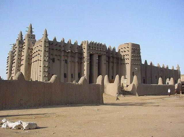 Djenne Mosque 001 - Mosque of Djenne !!!!
