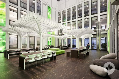 The MTV Headquarters Office in Berlin Germany
