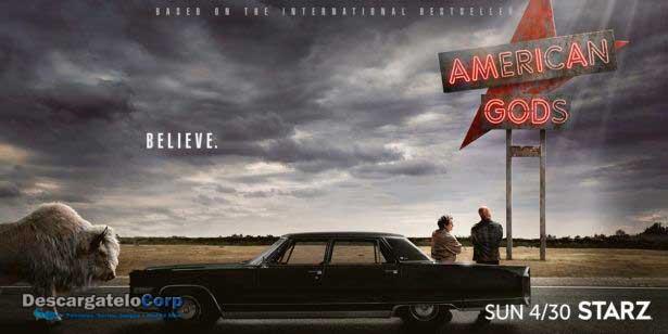 American Gods Temporada 1 Completa HD Latino