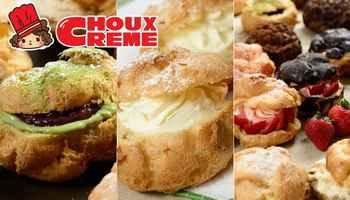 """Choux Crème - Thưởng thức """"đệ nhất"""" su kem Nhật Bản, banh su kem, su kem nhat ban, Choux Crème bakery, cua hang banh, banh kem ngon, sai gon am thuc, diem an uong ngon"""