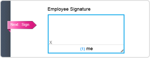 apply digital signature