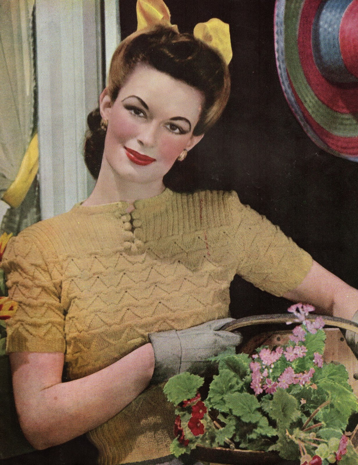 1940 Knitting Patterns Free : 1940s Style For You: Free Knitting Pattern - 1940s Jumper - Stitchc...