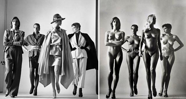 Helmut Newton Sus trabajos también fueron publicados en las revistas Marie Claire o American Playboy