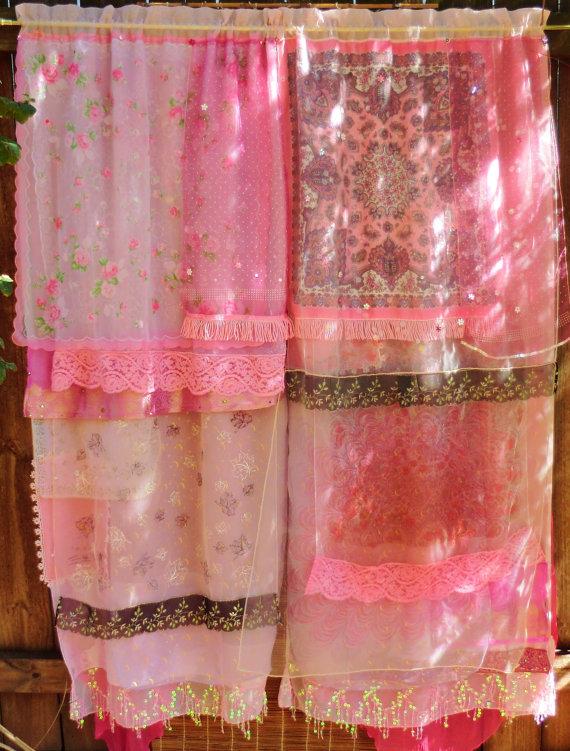 Handmade Wild Gypsy Bohemian Curtains In My Etsy Shop