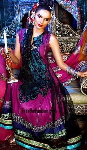 Fashion She9 Stylish Anarkali Dresses 2013-2014 For Girl